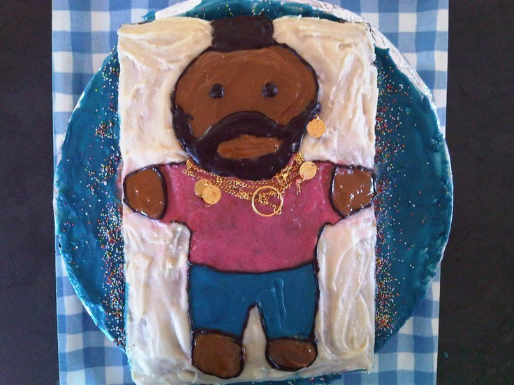 Mr T from the A-Team  (Kris' birthday cake 2011)