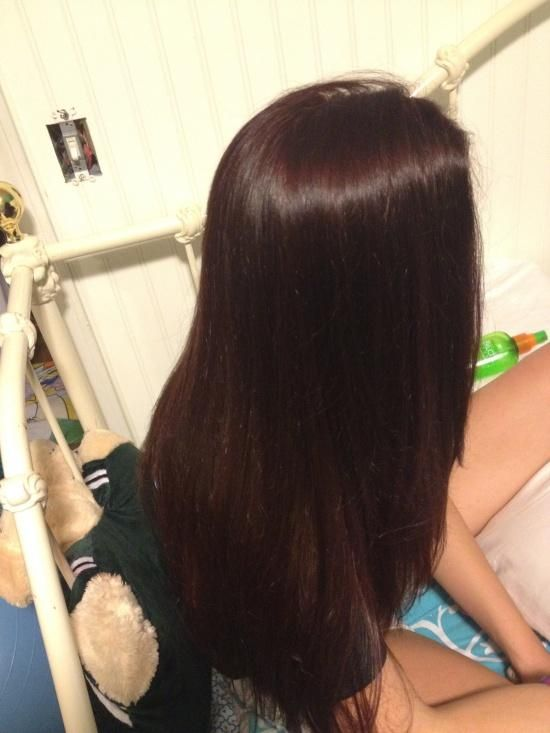 dark auburn....love this color