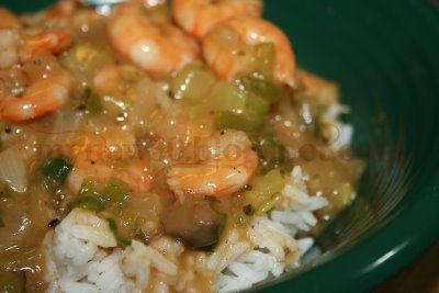 Super Easy Shortcut Shrimp Etouffée - seriously don't knock it till ya try it y'all! If you prefer, I also have the traditional roux based version with crawfish linked in this post as well.