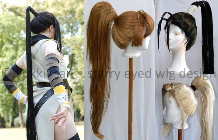 High ponytail tutorial by Kukkii-san on Cosplay.com: http://www.cosplay.com/photo/3445695/