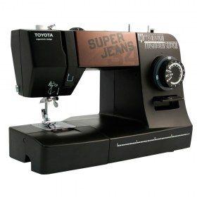 Macchina per cucire Toyota Super Jeans SUPERJ34 - Permette di realizzare orli perfetti fatti in casa.