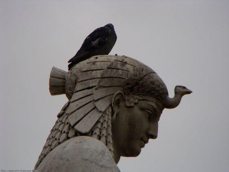 Double Decker Bird Headdress