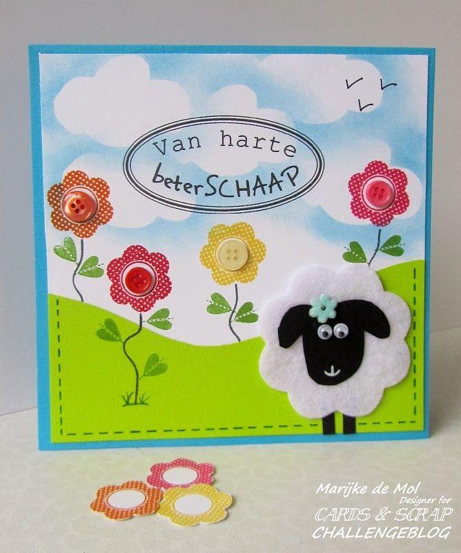Vrolijke beterschapskaart, Beterschaap!