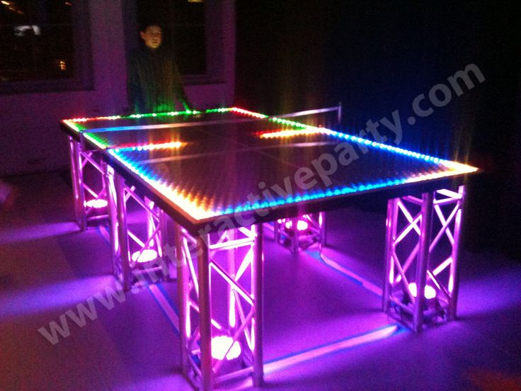 Good Ping Pong Extreme  Best Light Up Thing Ever   Random Stuff   Pinterest    Glow Pool Parties