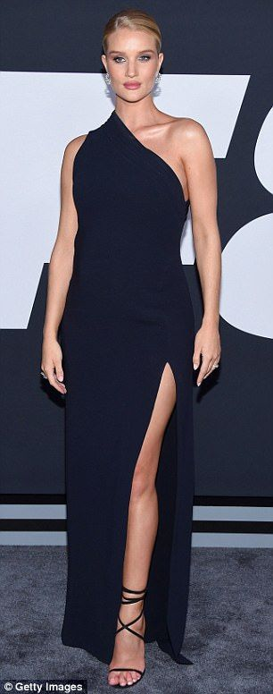 Steal the spotlight in Rosie's Brandon Maxwell gown #DailyMail  Click 'Visit' to buy now