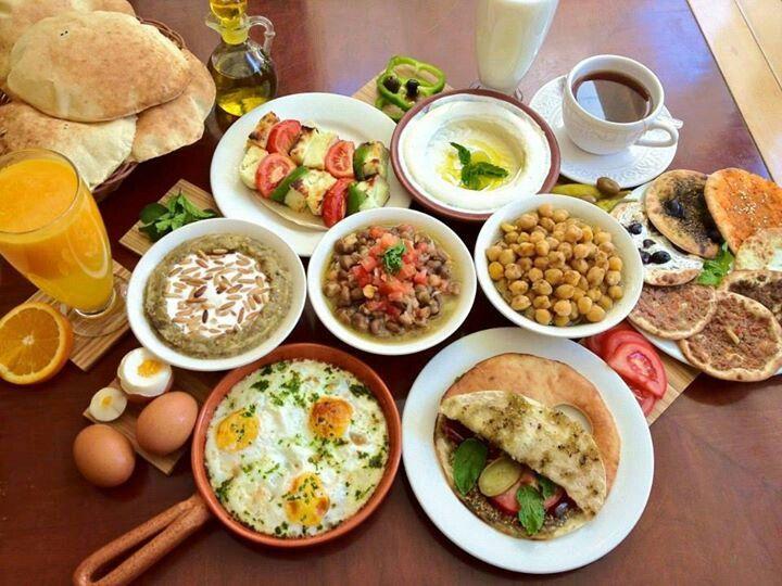 Petit dejeuner du liban