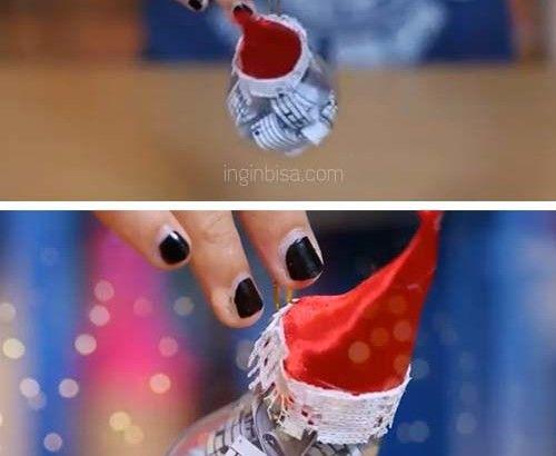 Bagaimana Cara Membuat Hiasan Natal 2014 Dari Bohlam Bekas