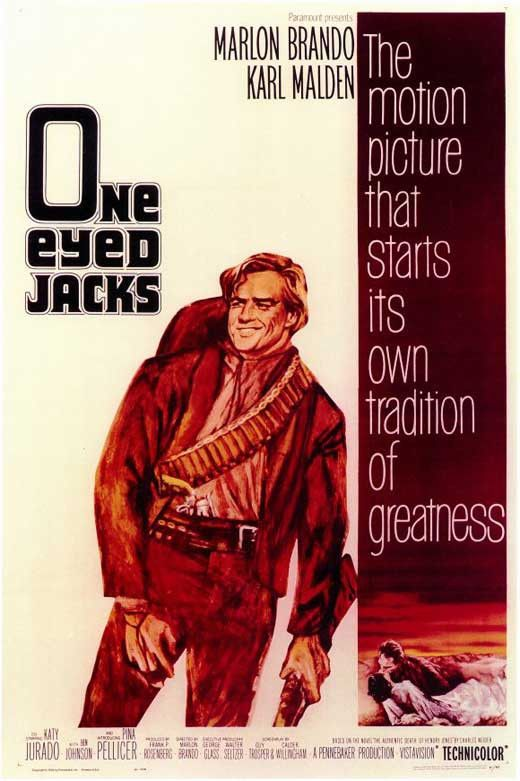 One-Eyed Jacks (1961) Not only did Marlon Brando star in this compelling and fascinating 1961 Western, but it is also the legendary actor's only directorial effort. In the old West of 1880, Kid Rio (M