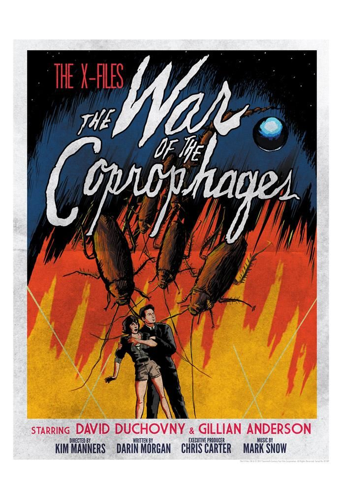 War of the Coprophages by JJ Lendl | The X-Files