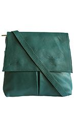 Teal Green Leather Ministry Bag/Satchel Bag - £39.99