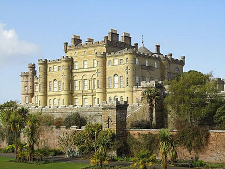 Culzean Castle. Located on the Ayrshire coast of Scotland, an illustration of the castle is featured on the reverse side of the Scottish five pound note. The top floor apartment was presented to President Eisenhower for his lifetime in recognition of his role during World War II.