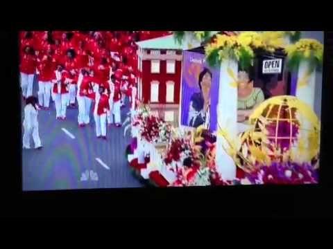 Delta Sigma Theta Sorority, Inc 2013 Rose Bowl Parade Float - YouTube #DST100