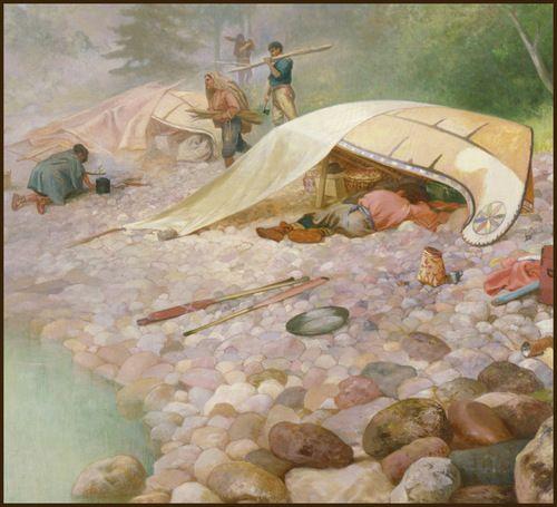 canoe history