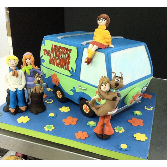 Scooby Doo Cake - Hmmm the Big Girl wants a Scooby Doo 7th birthday party  ???