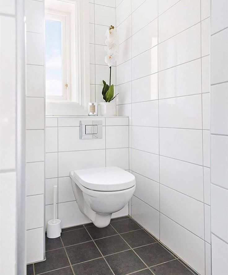 White Bathroom Grey Tiles: 190 Best L POWDER ROOM L Images On Pinterest