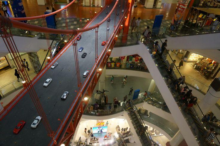 Terminal 21 Shopping Center in Bangkok