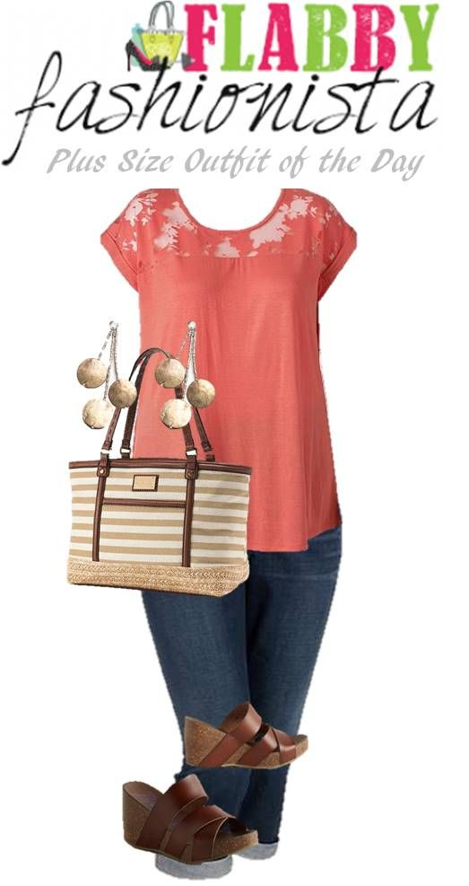 Plus Size Outfit of the Day – Coral for Summer