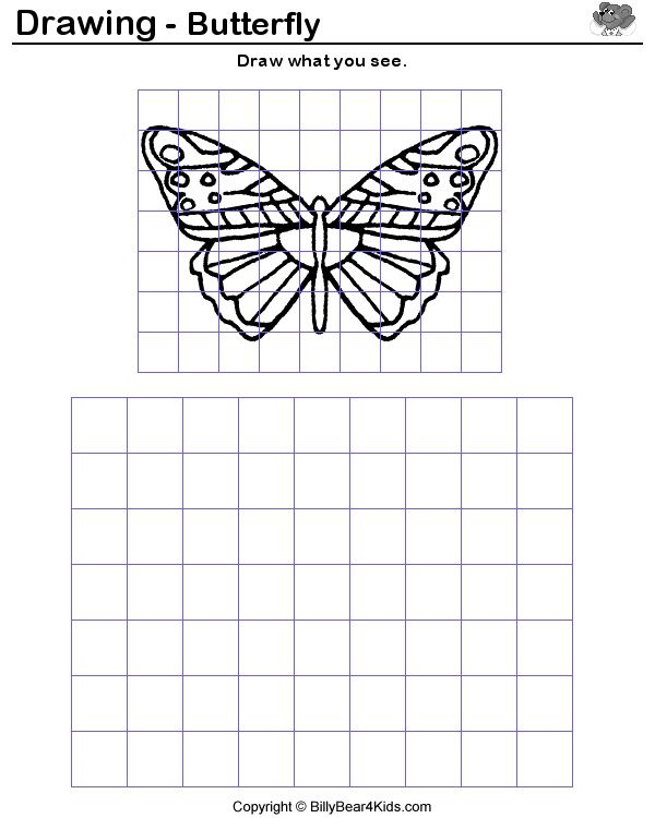 how to enlarge a drawing using a grid - Google Search