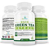 Green Tea Supplement EGCG Belly Fat Burner Weight Loss Pills for Women and Men  Anti-Aging  Boost Metabolism & Better Heart System  Pre Workout  Natural Energy  Detox Cleanse By BeLive