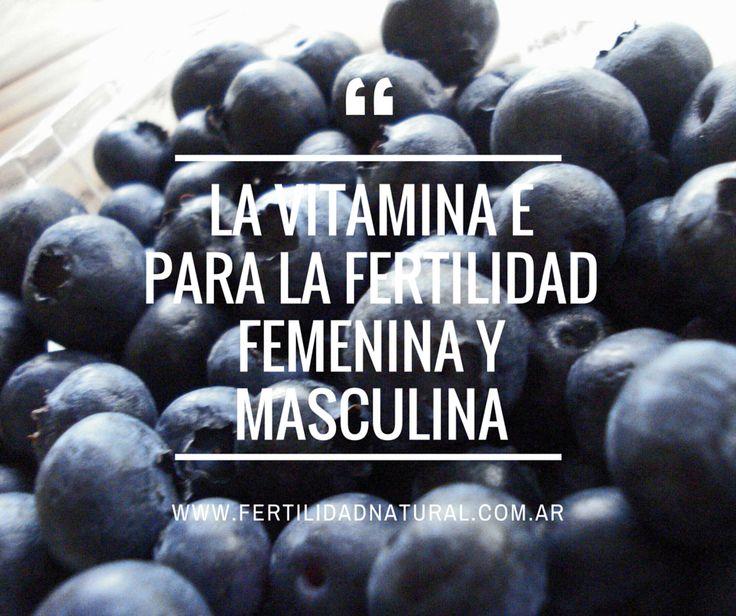 La vitamina E para la fertilidad femenina y masculina :: Fertilidad natural