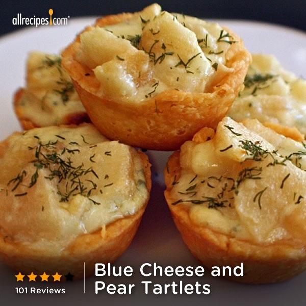 Blue Cheese And Red Potato Tart Recipe — Dishmaps