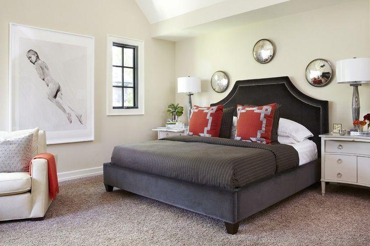 Кровать с мягким изголовьем (50 фото) : роскошь и комфорт http://happymodern.ru/krovat-s-myagkim-izgolovem-50-foto-roskosh-i-komfort/ Благородное черное изголовье кровати