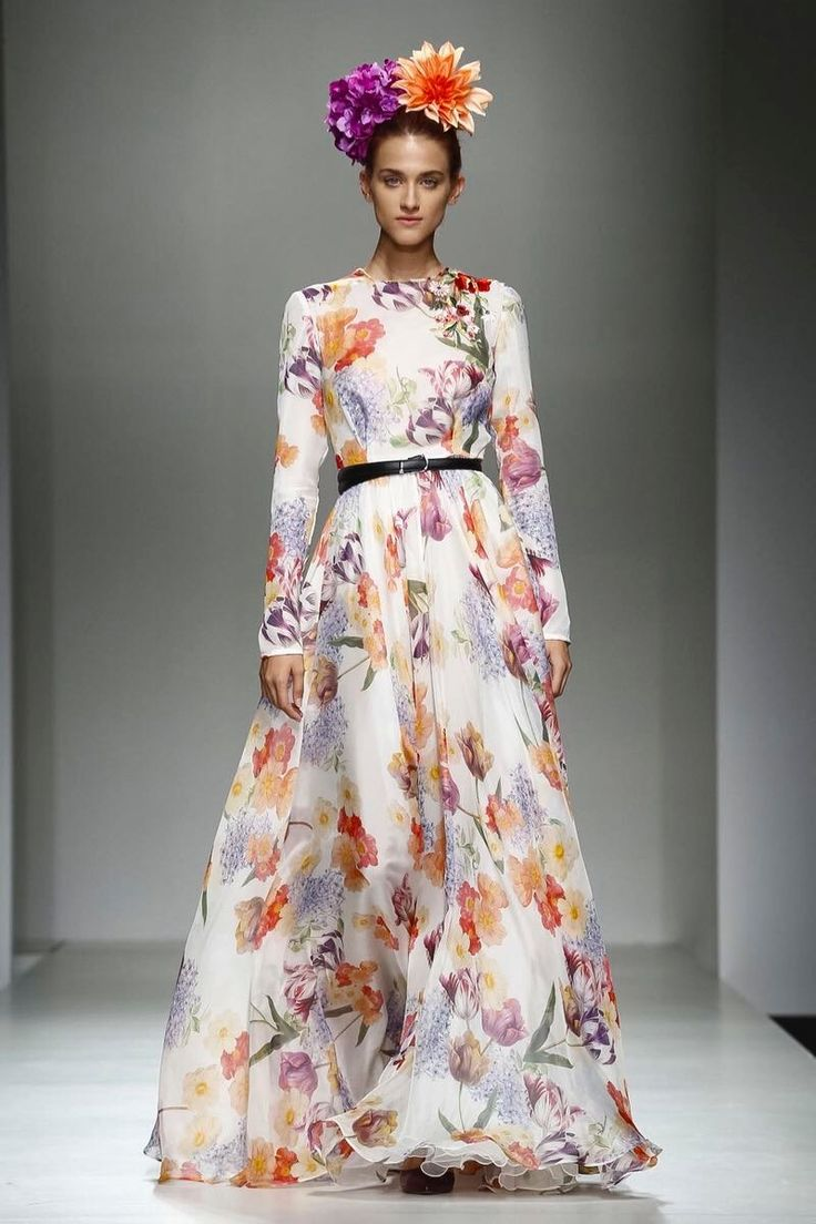 Giada Curti Secret Garden Full Show Ss2017 Collection Presentation At Huawei Arab Fashion Week