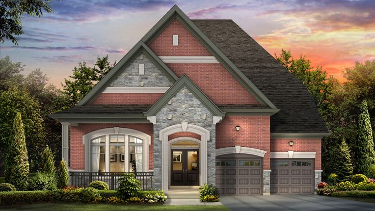 The Norwich Bungalow With Loft At Kleinburg Crown Estates In Vaughan Ontario Monarch Homes