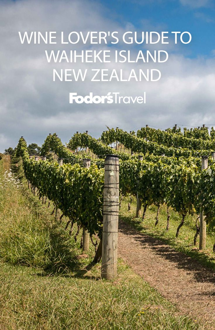 "Vineyard-hopping and beach-bumming are often mutually exclusive when it comes to a vacation; fortunately, you can have both if you've chosen New Zealand's Waiheke Island—or ""Wine Island"" as it's affectionately referred to by Aucklanders. #NewZealand #WaihekeIsland #wine"