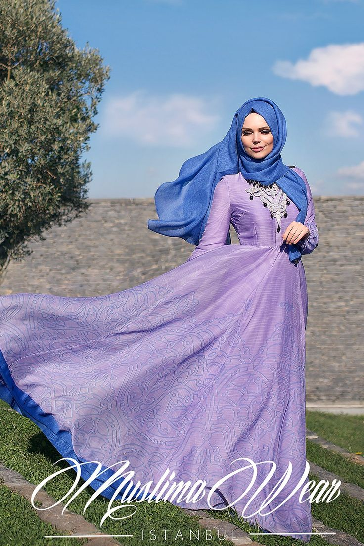 Muslima Wear Orchidea Dress 2
