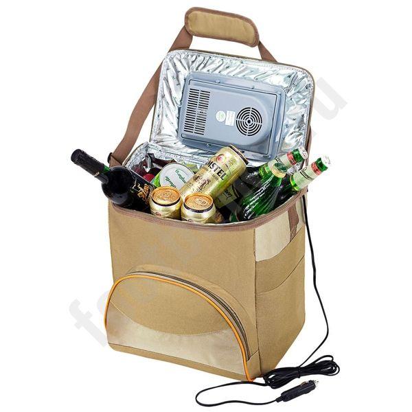 Сумка-холодильник с питанием от прикуривателя арт 4406