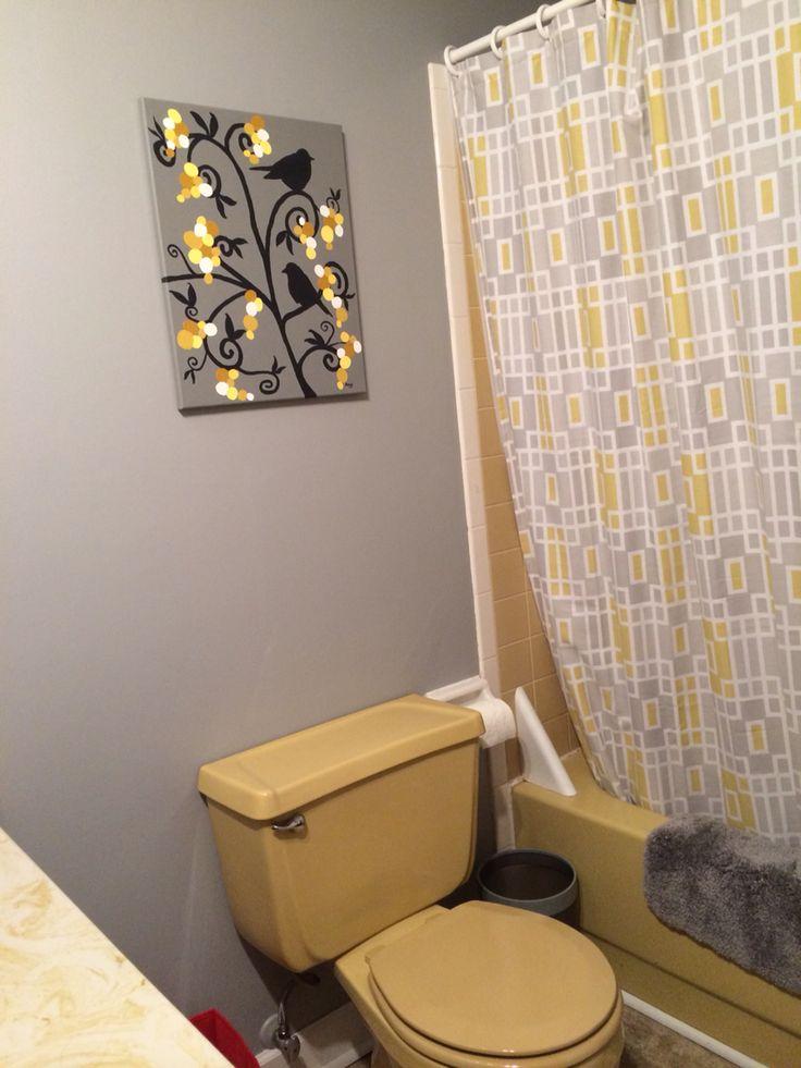 18 Best Images About Harvest Gold Bathroom On Pinterest