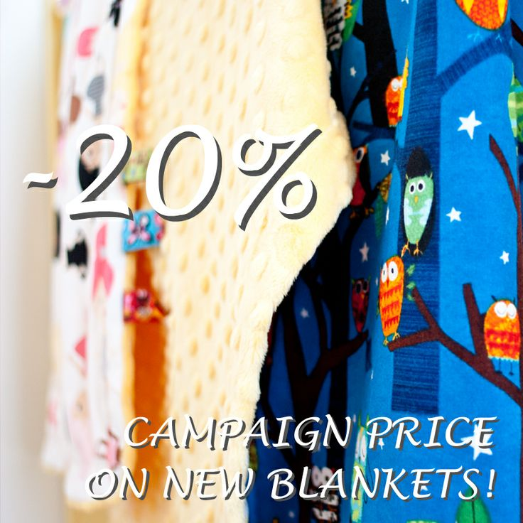 -20% CAMPAIGN PRICE ON NEW BLANKETS! Brand new Loolyby light #blankets in your favorite #design in camapign price! Welcome to www.loolyby.se
