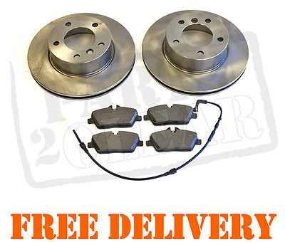 Bmw 116 118 e87 front #brake #discs & pads set #sensors new 116i 118d 118i 04-200,  View more on the LINK: 	http://www.zeppy.io/product/gb/2/120872973187/