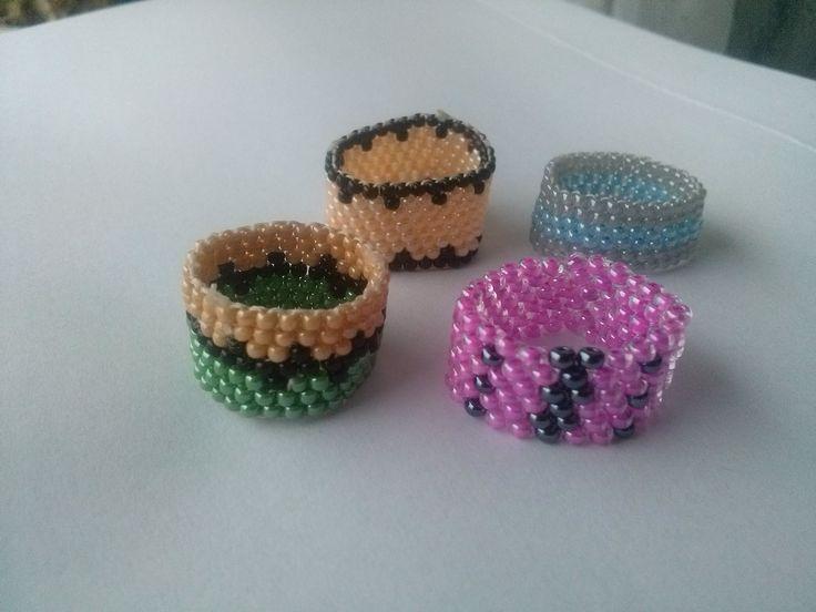 Beaded rings