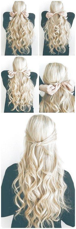 40 Easy Hairstyles for Schools to Try in 2016 |  #LongHairstylesForFineHair Like