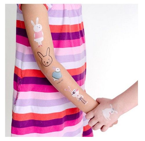 DIY-easter-bunny-rabbit-lapin-tatoo-tatouage-paques-ostern