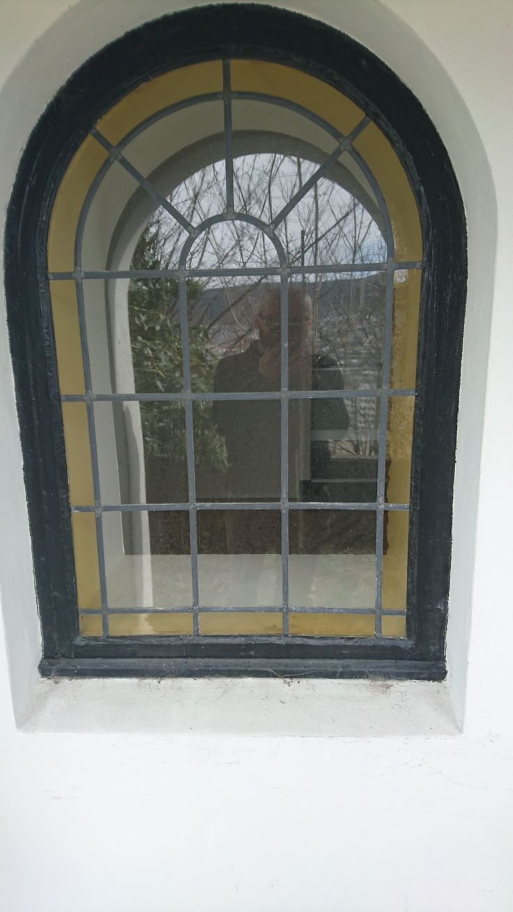 Buet vindu en fornøyd kunde har fått installert