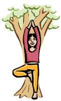 drevo - joga