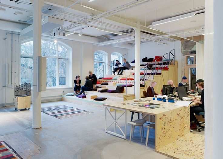 Former corset factory converted into office by OkiDoki! Arkitekter