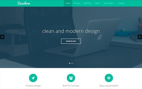 HTML5 + CSS3 Responsive Template