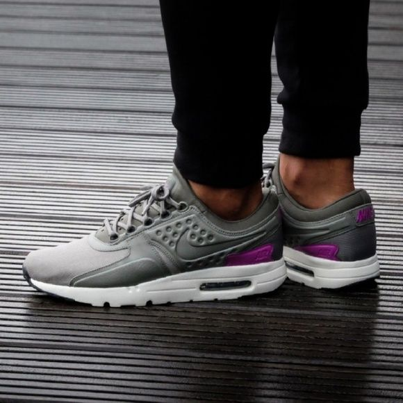 super popular cc4d1 d7784 New Mens Nike Air Max Zero Purple & Gray, Size 9 MEN'S Nike ...