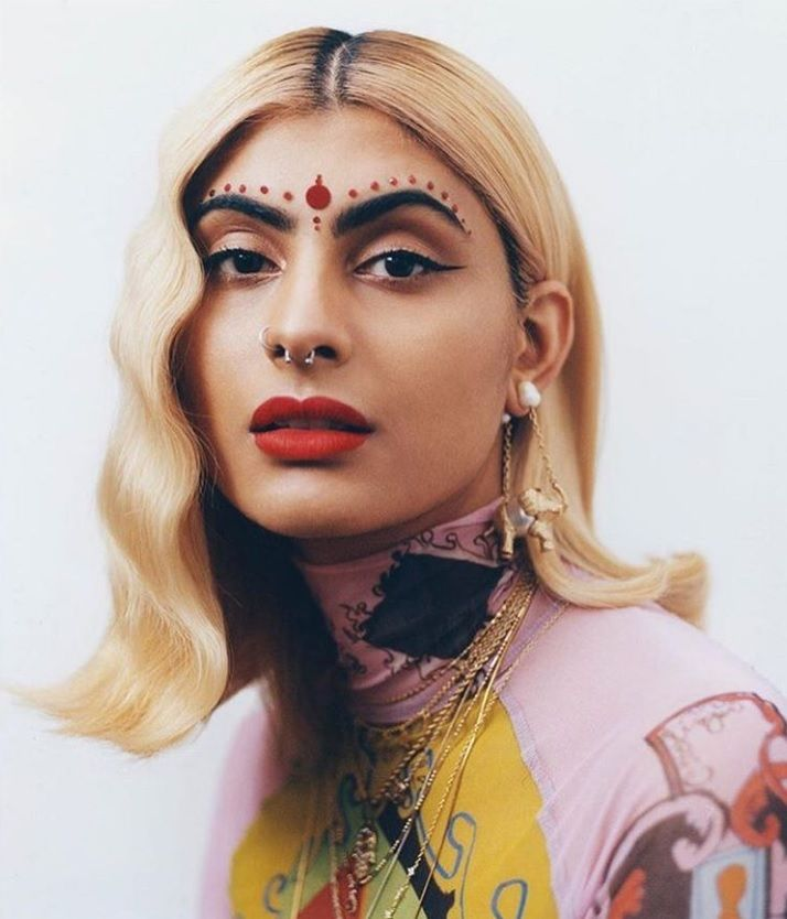 Journalist and model Simran Randhawa (Storm Model Management) for Dazed and  Confused Magazine