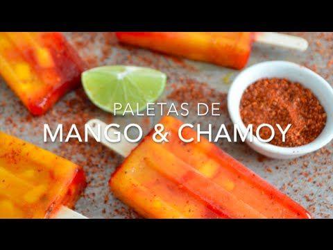 Paletas de mango y chamoy (estilo mangonadas)