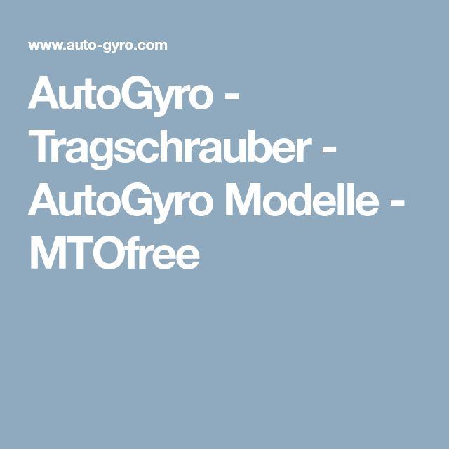 AutoGyro - Tragschrauber - AutoGyro Modelle - MTOfree