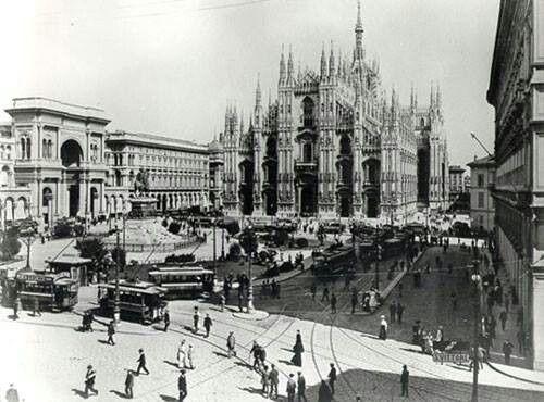 La vecchia Milano - Duomo