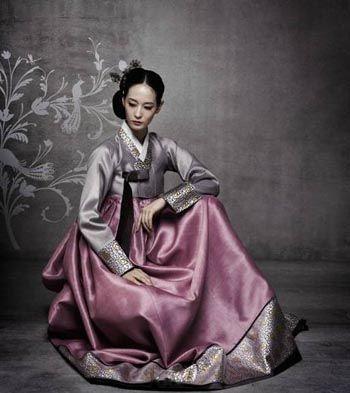 Fusion Hanbok for Korean Brides