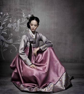 Fusion Hanbok for Korean Brides