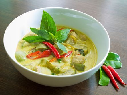This is an authentic vegetarian Thai Green Curry recipe that's simple to make from scratch, no packaged curry paste required.