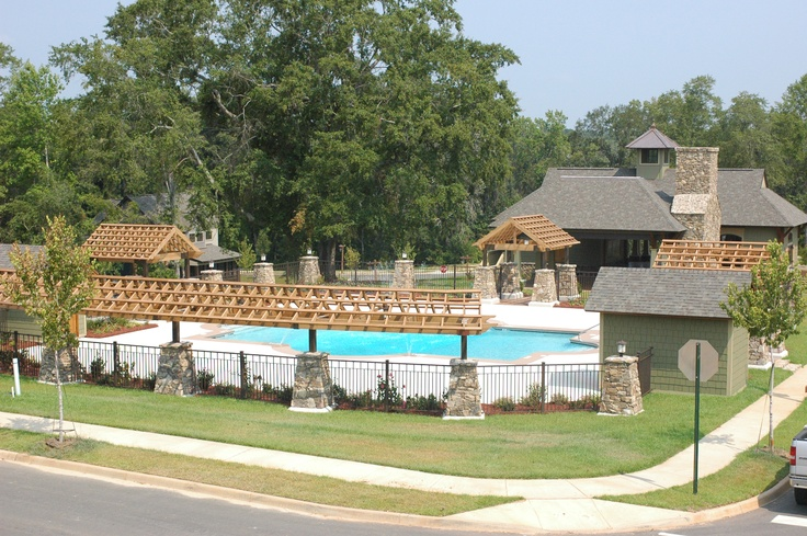 Pool and Pavilion at Reflections on the Water